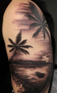 Palm Trees and Water