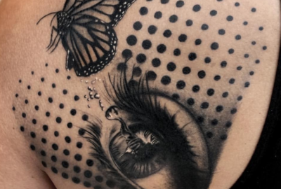 Butterfly and Eye Design