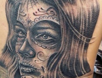 Woman Day of the Dead